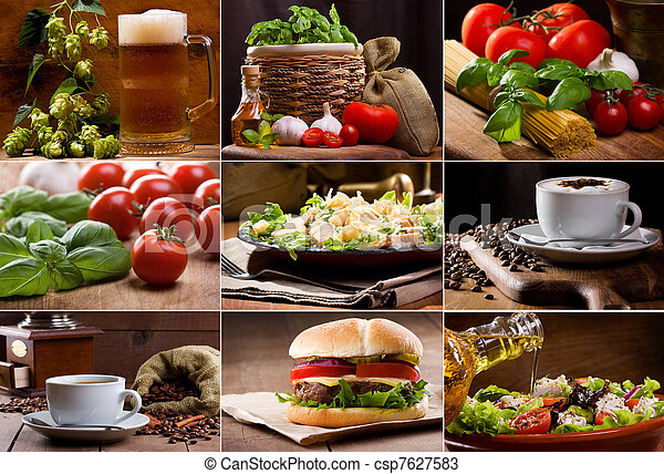food and drink collection - csp7627583