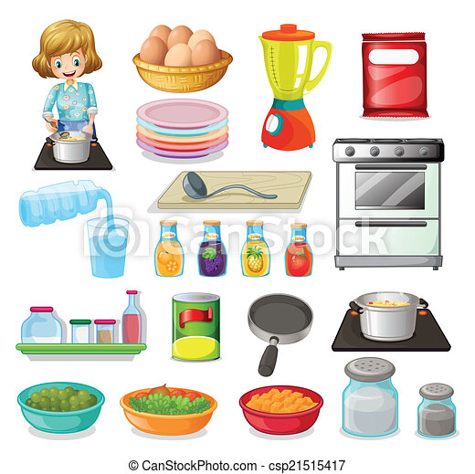 Food and kitchenware - csp21515417