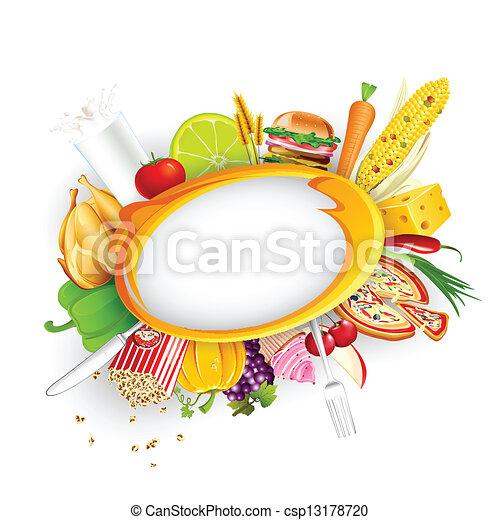 Food Background - csp13178720