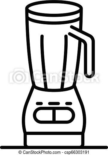 Food Blender Icon Outline Style Food Blender Icon Outline Food Blender Vector Icon For Web Design Isolated On White