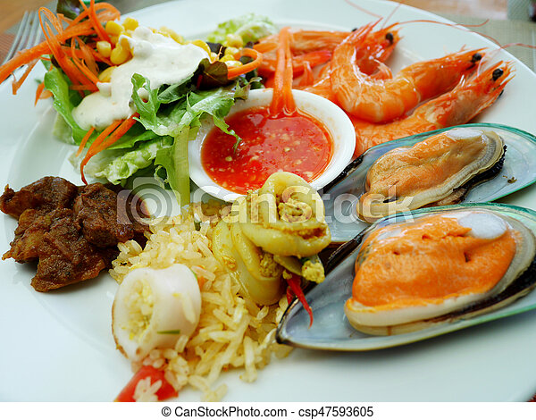 Incredible Food Buffet Service In Restaurant At Thailand Download Free Architecture Designs Grimeyleaguecom
