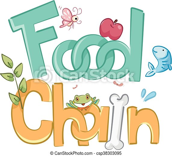 food chain typography typography illustration featuring the phrase rh canstockphoto com food chain clip art/free food chain clipart images