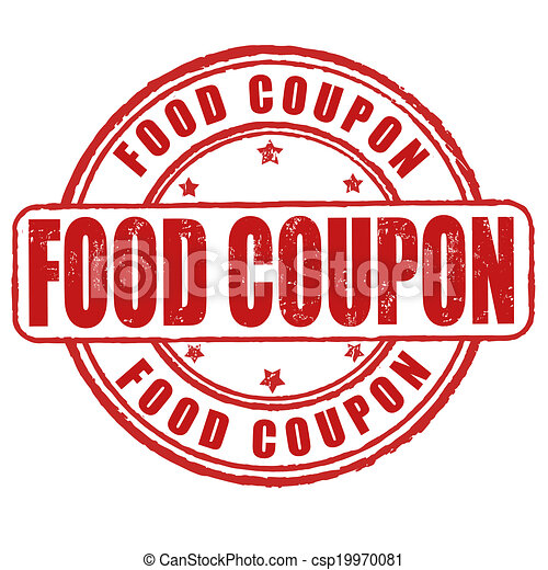 food coupon stamp food coupon grunge rubber stamp on white vector illustration. Black Bedroom Furniture Sets. Home Design Ideas