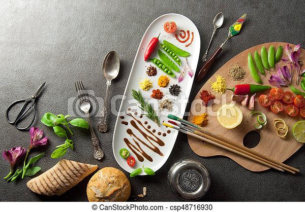 Food creativity concept