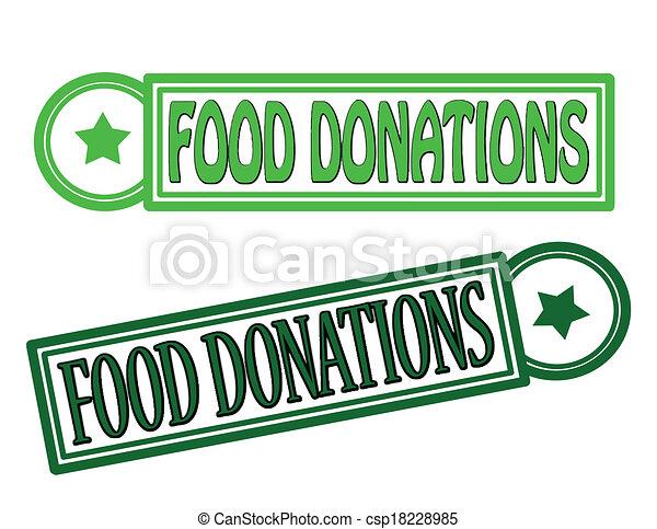 Food donations - csp18228985