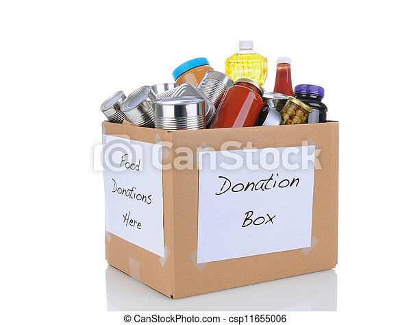 Food Drive Box - csp11655006