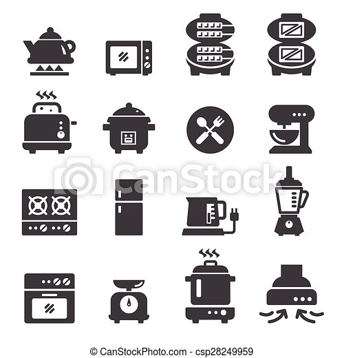 food electric icon - csp28249959