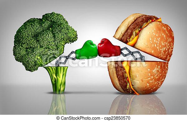 Food Fight - csp23850570