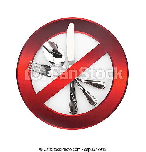 Food forbidden - csp8572943