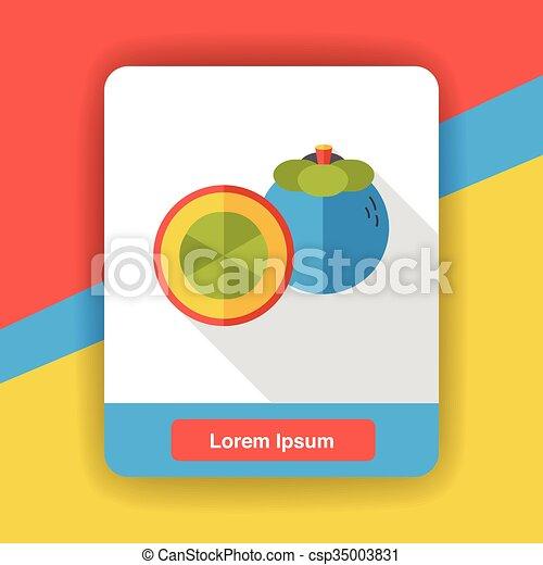 food fruits flat icon - csp35003831