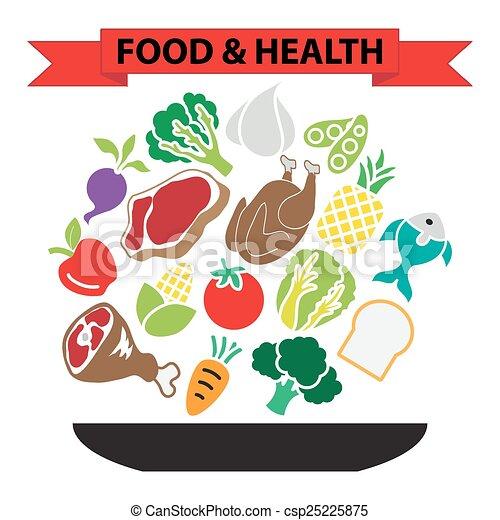 food healthy nutrition - csp25225875