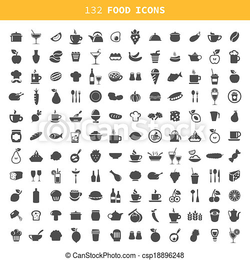 Food icon - csp18896248