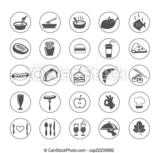 food icon - csp22239982