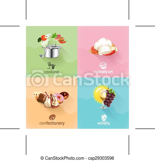 Food icons - csp29303596