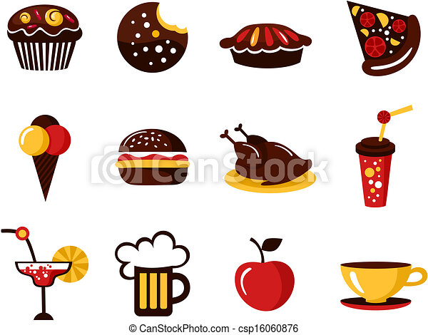 food icons - csp16060876