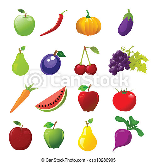 food icons - csp10286905