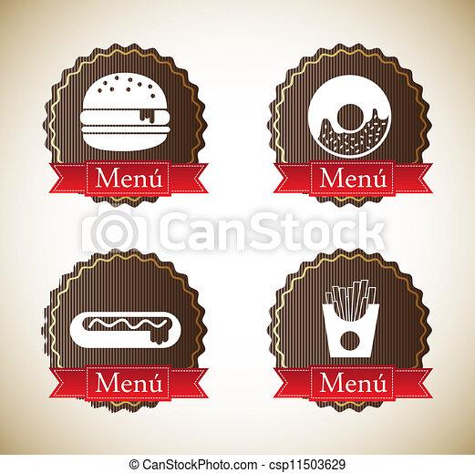 food labels - csp11503629