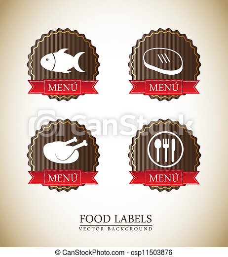 food labels - csp11503876