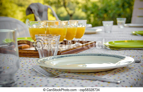 food on a plate - csp58328734