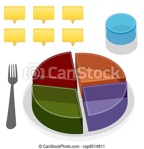 Food Plate Guide - csp6514811