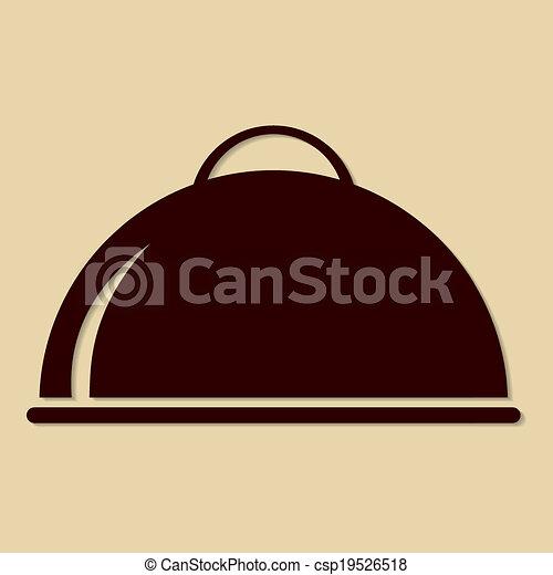 Food Platter Icon - csp19526518