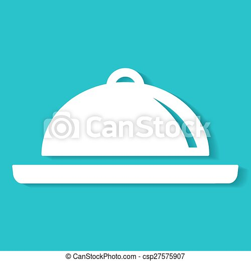 Food Platter Icon - csp27575907