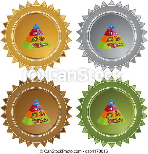 Food Pyramid - csp4170016