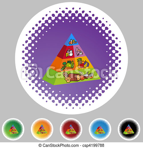 Food Pyramid - csp4199788