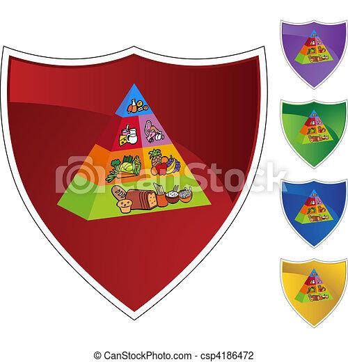 Food Pyramid - csp4186472