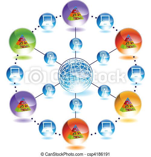 Food Pyramid - csp4186191