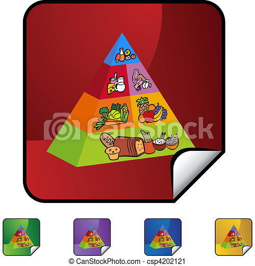 Food Pyramid - csp4202121