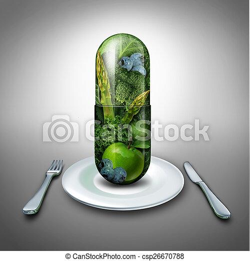 Food Supplement - csp26670788