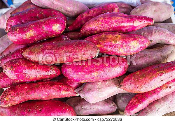 Food, Sweet Potato, Torrance, Community, Dieting - csp73272836