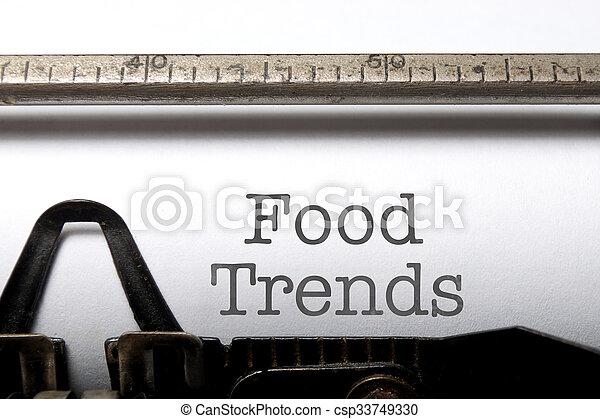 Food trends - csp33749330