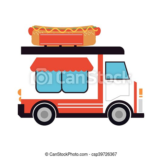 food truck delivery design hot dog truck delivery fast food clip rh canstockphoto com delivery clipart free clipart delivery car