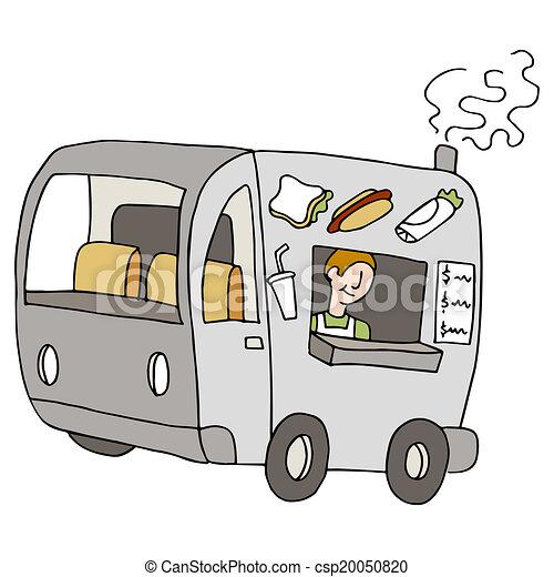Food Truck - csp20050820
