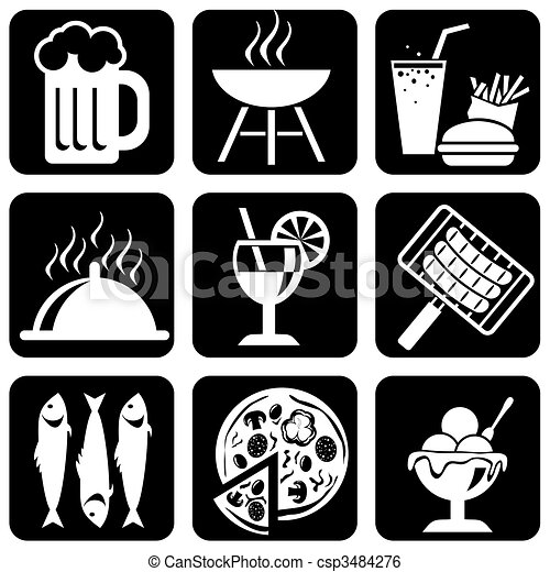 food_icons - csp3484276