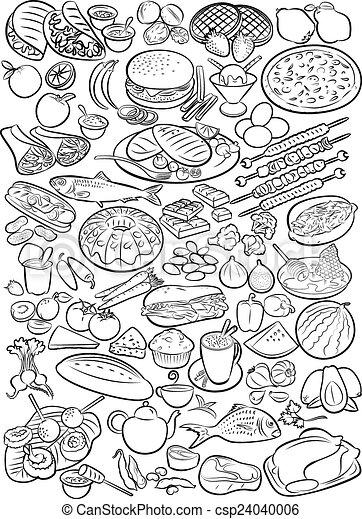 Foods - csp24040006