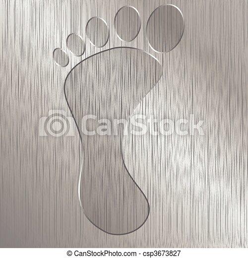 Foot - csp3673827
