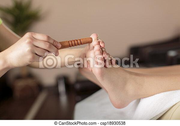 Foot massage - csp18930538