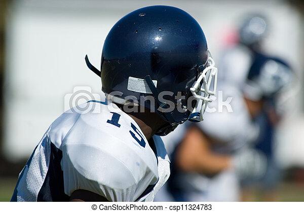 football, americano, -, gioventù - csp11324783