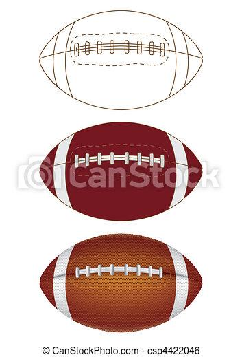 football americano - csp4422046