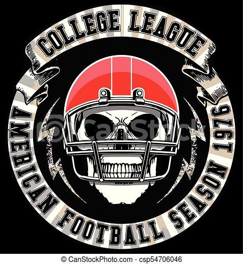 football americano - csp54706046