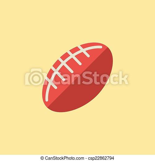 Football Ball Icon - csp22862794