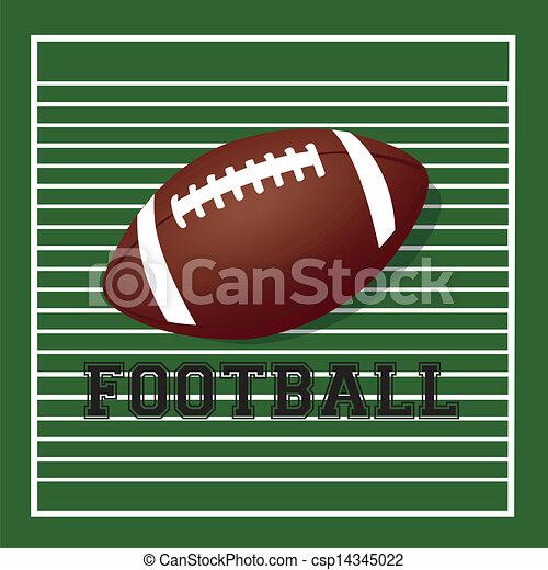 football ball - csp14345022