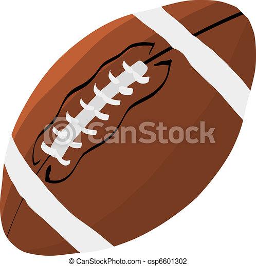 Football ball - csp6601302