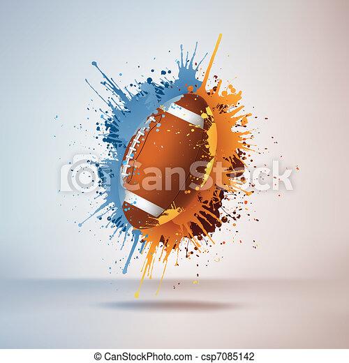 Football Ball - csp7085142
