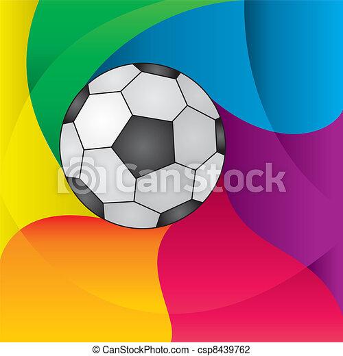 football ball - csp8439762