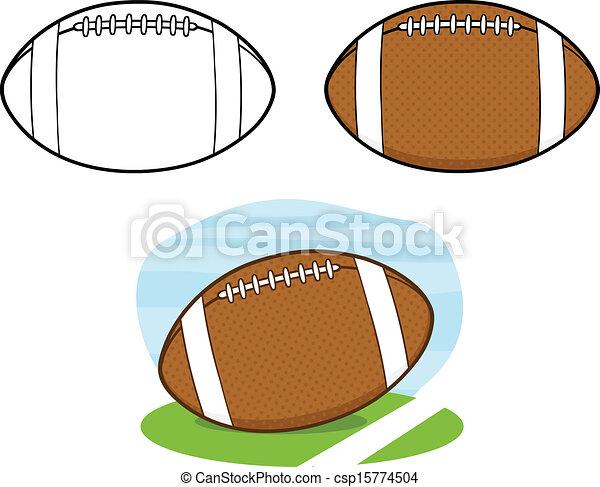 Football Balls Collection Set 1 - csp15774504