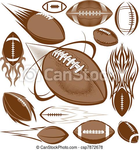 football, collezione - csp7872678